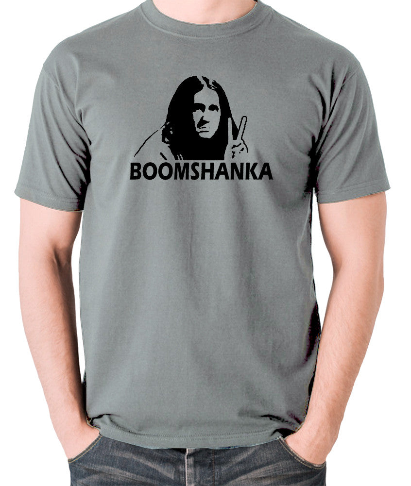 The Young Ones - Neil Boomshanka - Men's T Shirt - grey