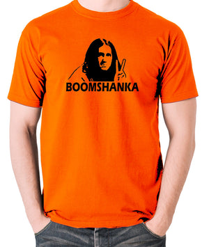 The Young Ones - Neil Boomshanka - Men's T Shirt - orange