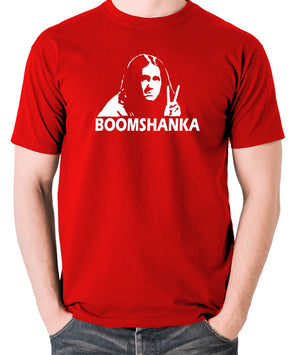 The Young Ones - Neil Boomshanka - Men's T Shirt - red