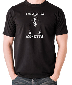 The Young Ones - Rick I Am Not Getting Aggressive - Men's T Shirt - black