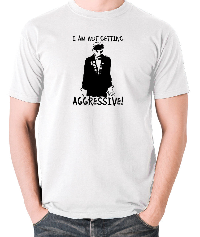 The Young Ones - Rick I Am Not Getting Aggressive - Men's T Shirt - white