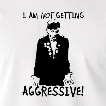 The Young Ones - Rick I Am Not Getting Aggressive - Men's T Shirt