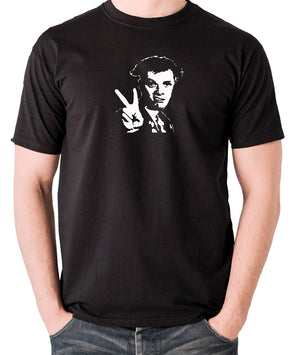 The Young Ones - Rick, Peace - Men's T Shirt - black