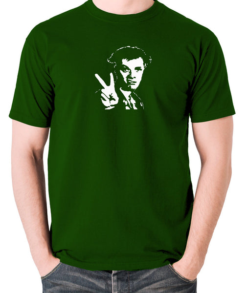 The Young Ones - Rick, Peace - Men's T Shirt - green