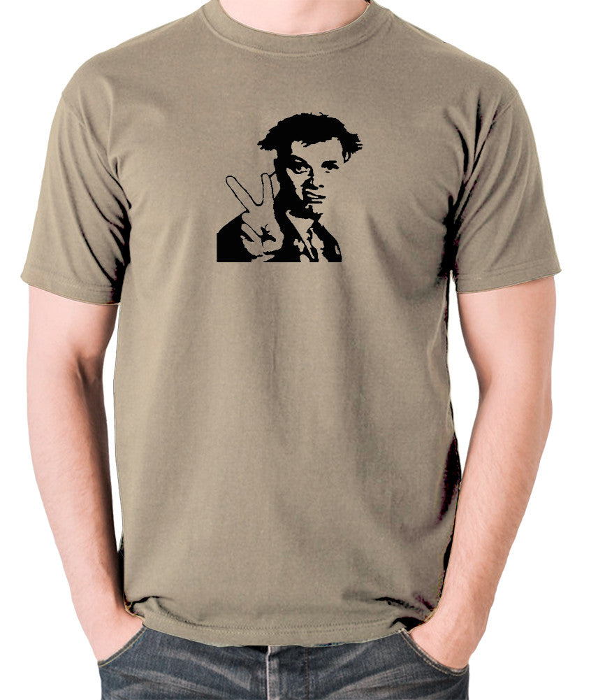 The Young Ones - Rick, Peace - Men's T Shirt - khaki