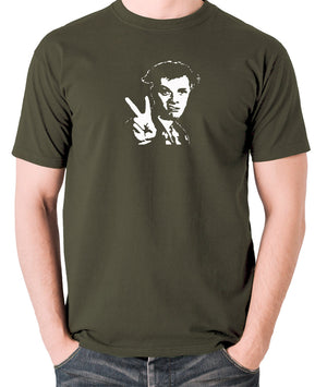 The Young Ones - Rick, Peace - Men's T Shirt - olive