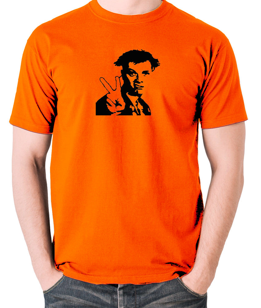The Young Ones - Rick, Peace - Men's T Shirt - orange