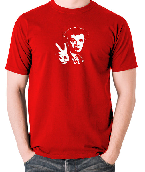 The Young Ones - Rick, Peace - Men's T Shirt - red