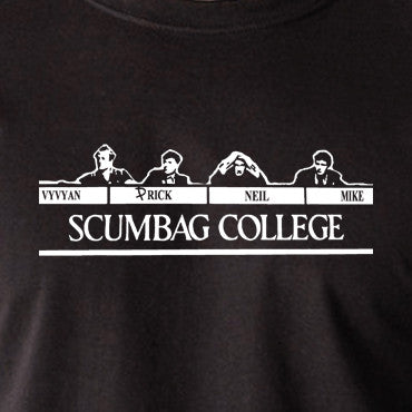 The Young Ones - Scumbag College - Men's T Shirt
