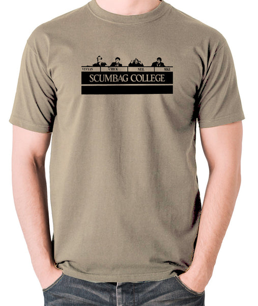 The Young Ones - Scumbag College - Men's T Shirt - khaki