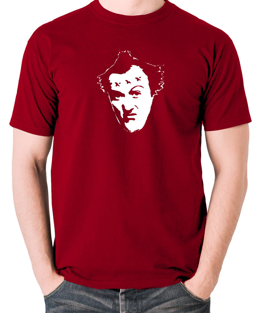 The Young Ones - Vyvyan - Men's T Shirt - brick red
