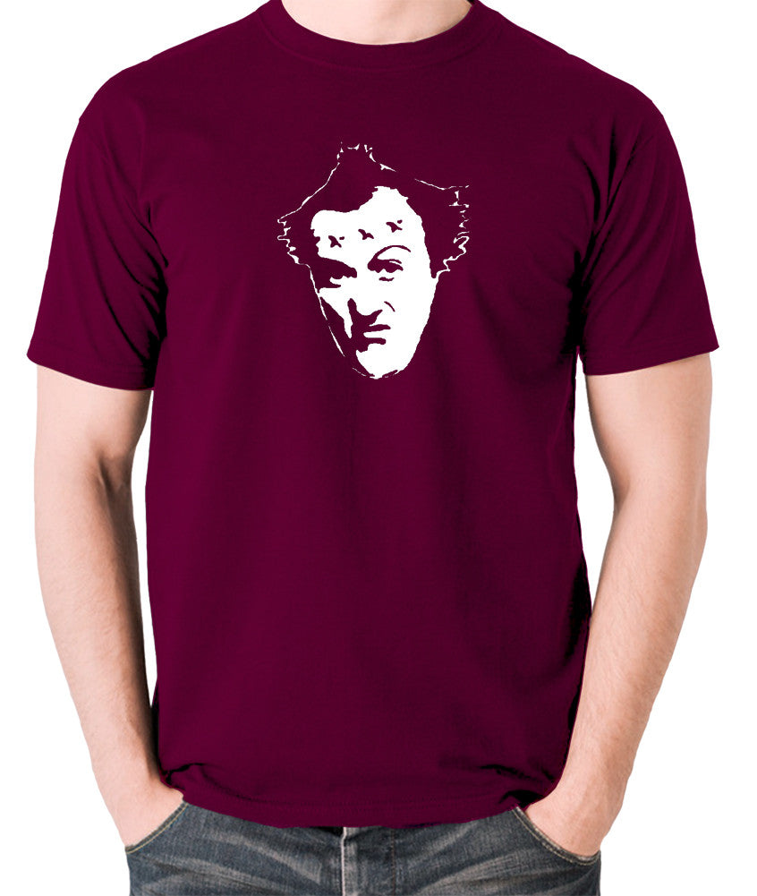 The Young Ones - Vyvyan - Men's T Shirt - burgundy