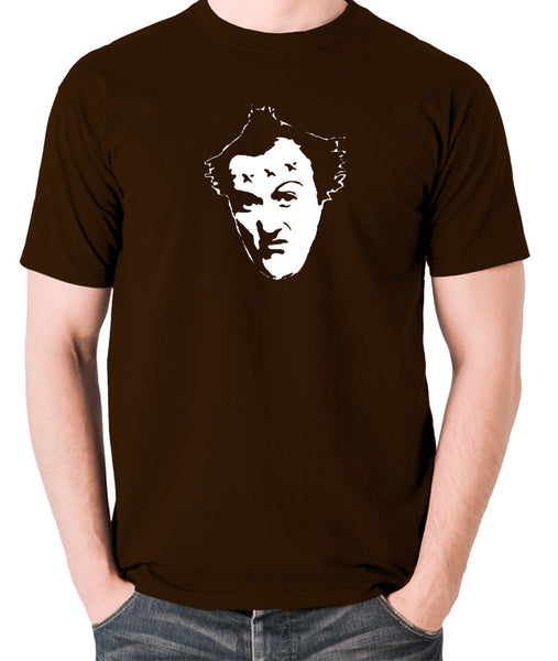 The Young Ones - Vyvyan - Men's T Shirt - chocolate