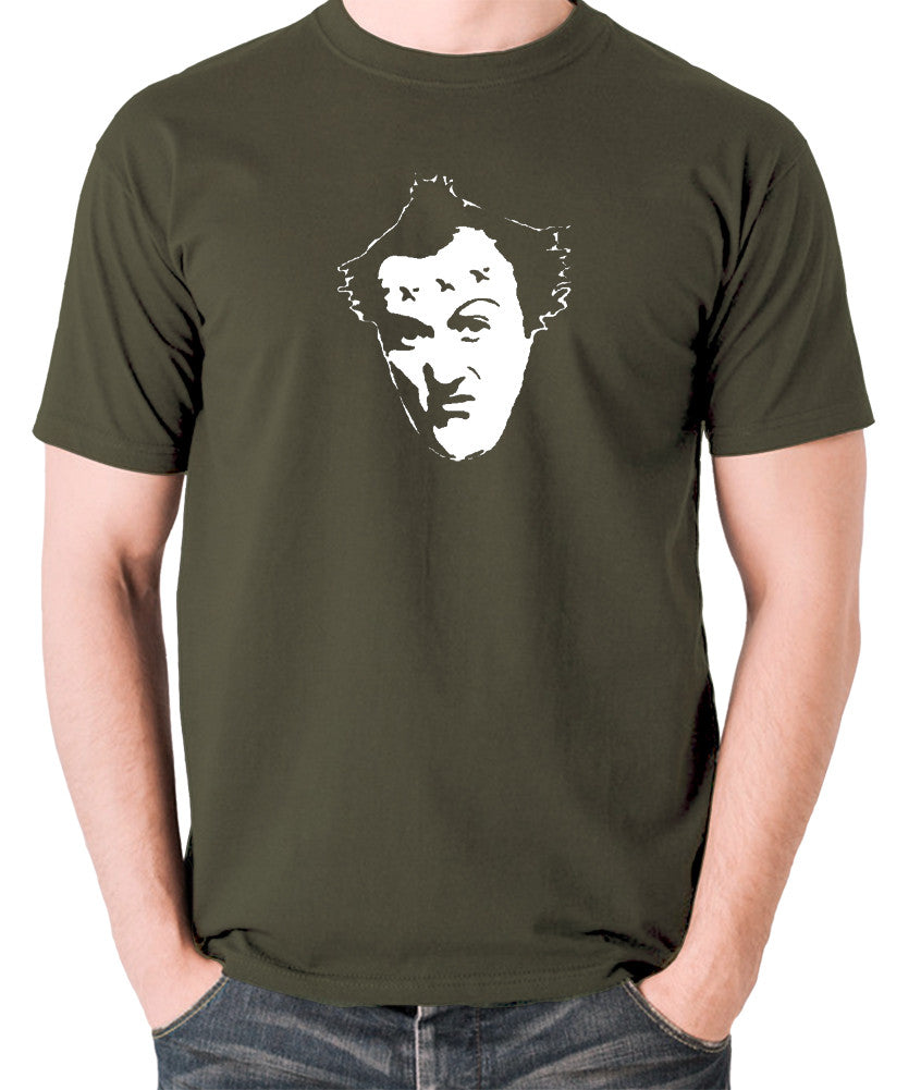 The Young Ones - Vyvyan - Men's T Shirt - olive