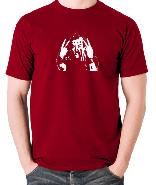 The Young Ones - Vyvyan Ade Edmondson - Men's T Shirt - brick red