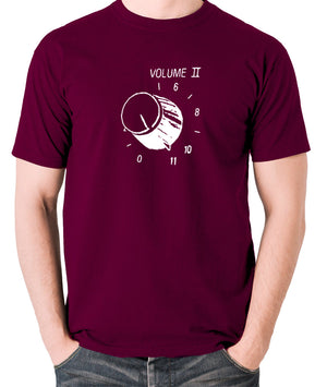 This Is Spinal Tap - Up To Eleven - Men's T Shirt - burgundy