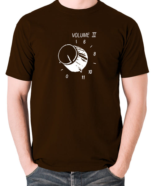 This Is Spinal Tap - Up To Eleven - Men's T Shirt - chocolate