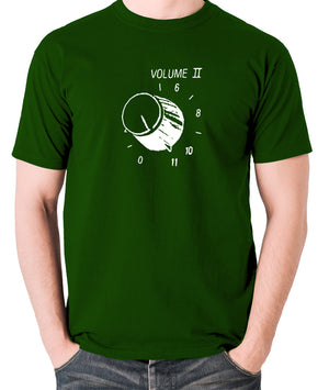 This Is Spinal Tap - Up To Eleven - Men's T Shirt - green