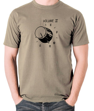 This Is Spinal Tap - Up To Eleven - Men's T Shirt - khaki
