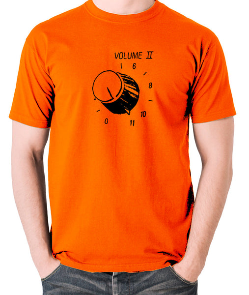 This Is Spinal Tap - Up To Eleven - Men's T Shirt - orange