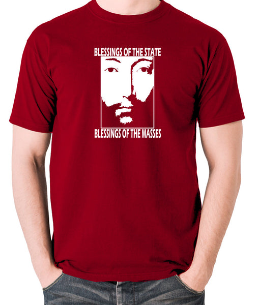 THX 1138 - Blessings Of The State - Men's T Shirt - brick red