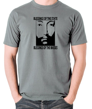 THX 1138 - Blessings Of The State - Men's T Shirt - grey