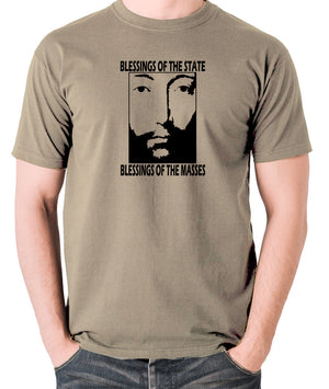 THX 1138 - Blessings Of The State - Men's T Shirt - khaki