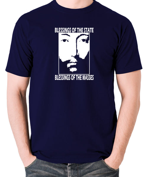 THX 1138 - Blessings Of The State - Men's T Shirt - navy