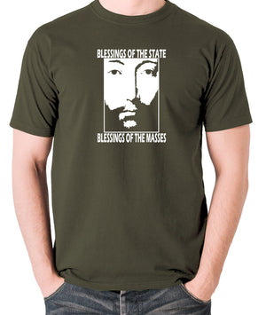 THX 1138 - Blessings Of The State - Men's T Shirt - olive