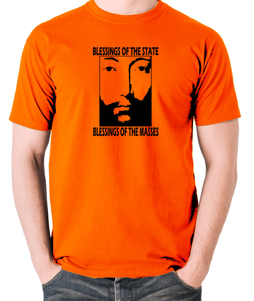 THX 1138 - Blessings Of The State - Men's T Shirt - orange