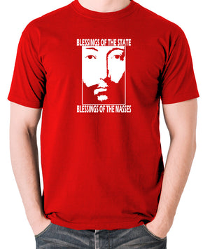 THX 1138 - Blessings Of The State - Men's T Shirt - red
