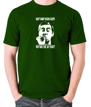Tony Hancock - Hancock's Half Hour - What About Magna Carta Did She Die In Vain - Men's T Shirt - green