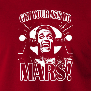 Total Recall - Douglas Quaid, Get Your Ass to Mars! - Men's T Shirt