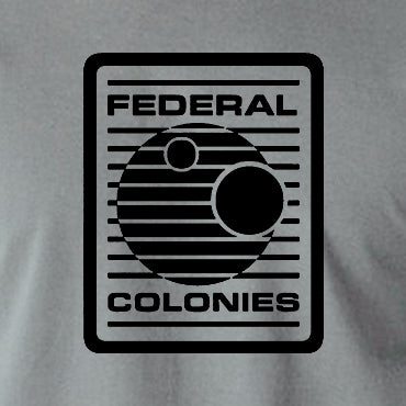 Total Recall - Federal Colonies Badge - Mens T Shirt