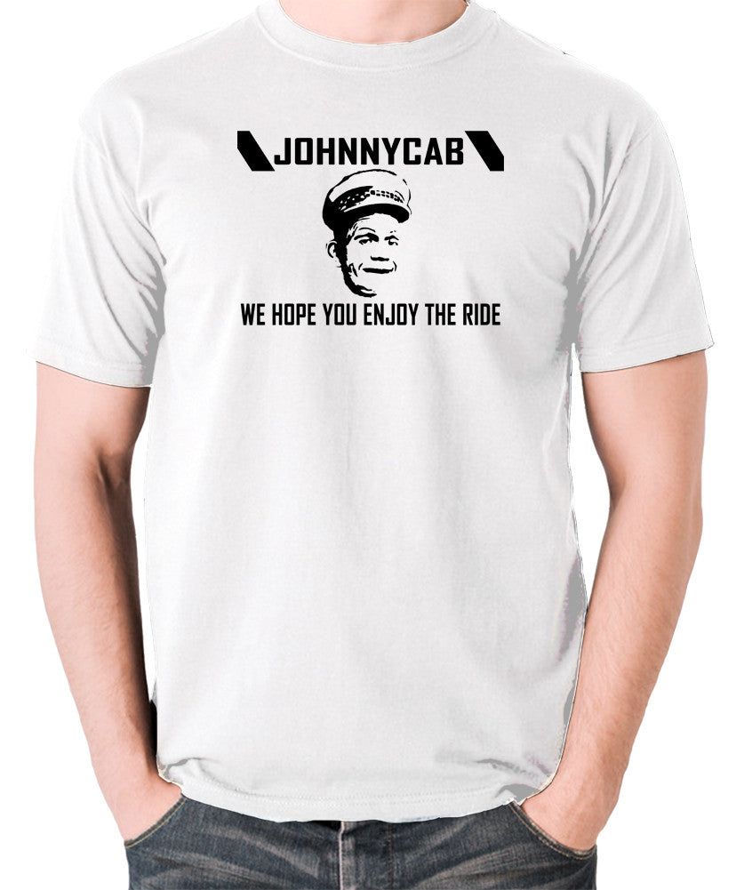Total Recall - Johnnycab We Hope You Enjoy The Ride - Men's T Shirt - white