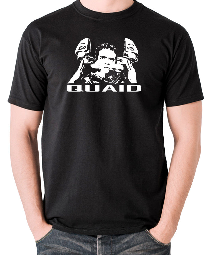 Total Recall - Quaid - Men's T Shirt - black
