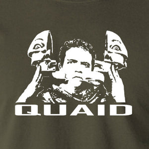 Total Recall - Quaid - Men's T Shirt