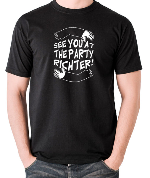 Total Recall - See You at the Party Richter - Men's T Shirt - black