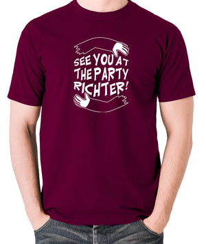 Total Recall - See You at the Party Richter - Men's T Shirt - burgundy