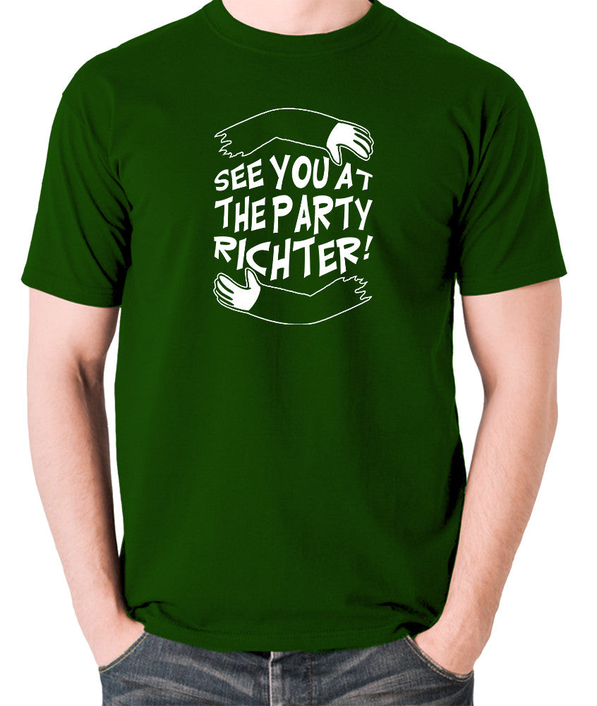 Total Recall - See You at the Party Richter - Men's T Shirt - green