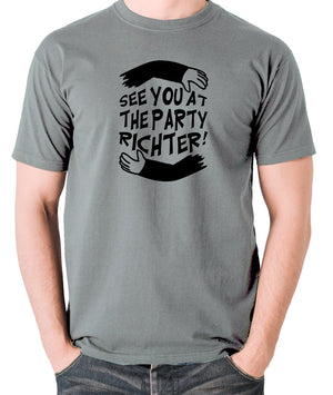 Total Recall - See You at the Party Richter - Men's T Shirt - grey