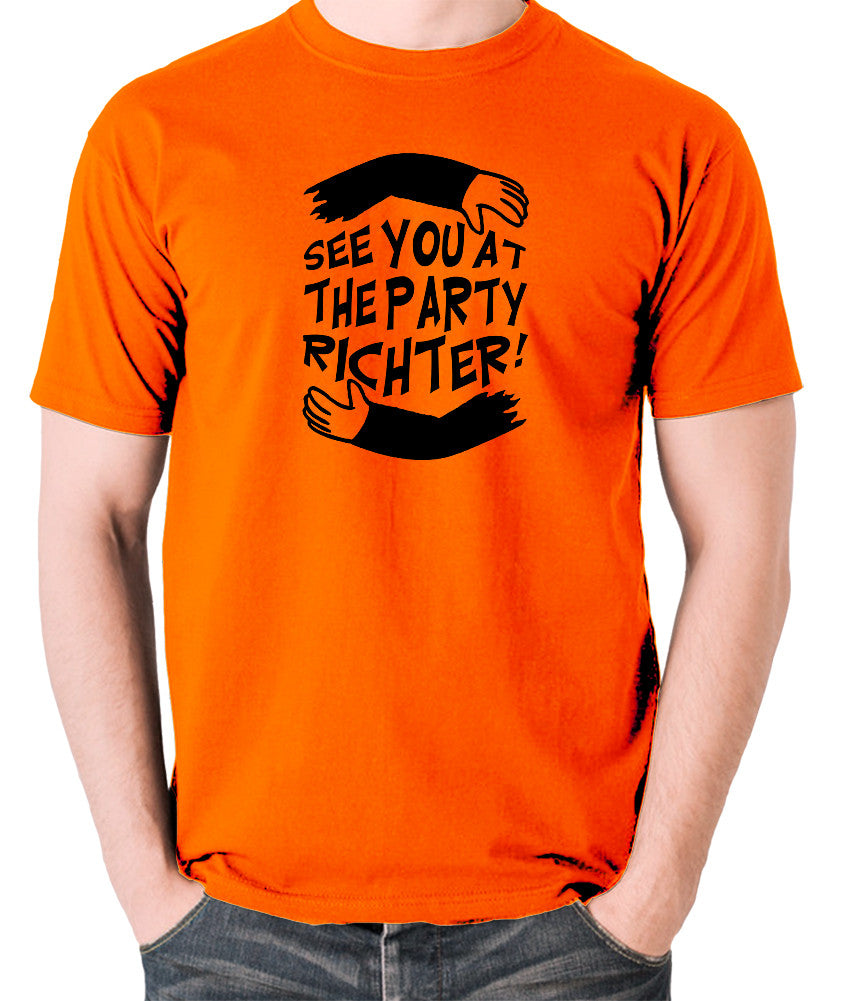 Total Recall - See You at the Party Richter - Men's T Shirt - orange