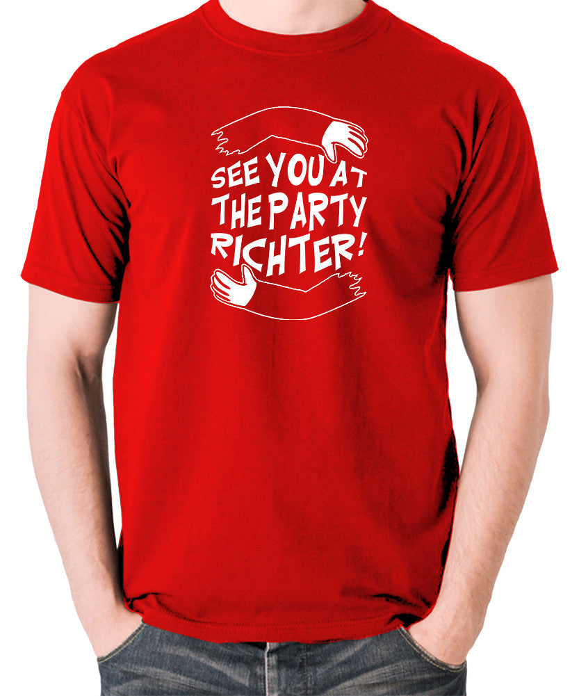 Total Recall - See You at the Party Richter - Men's T Shirt - red