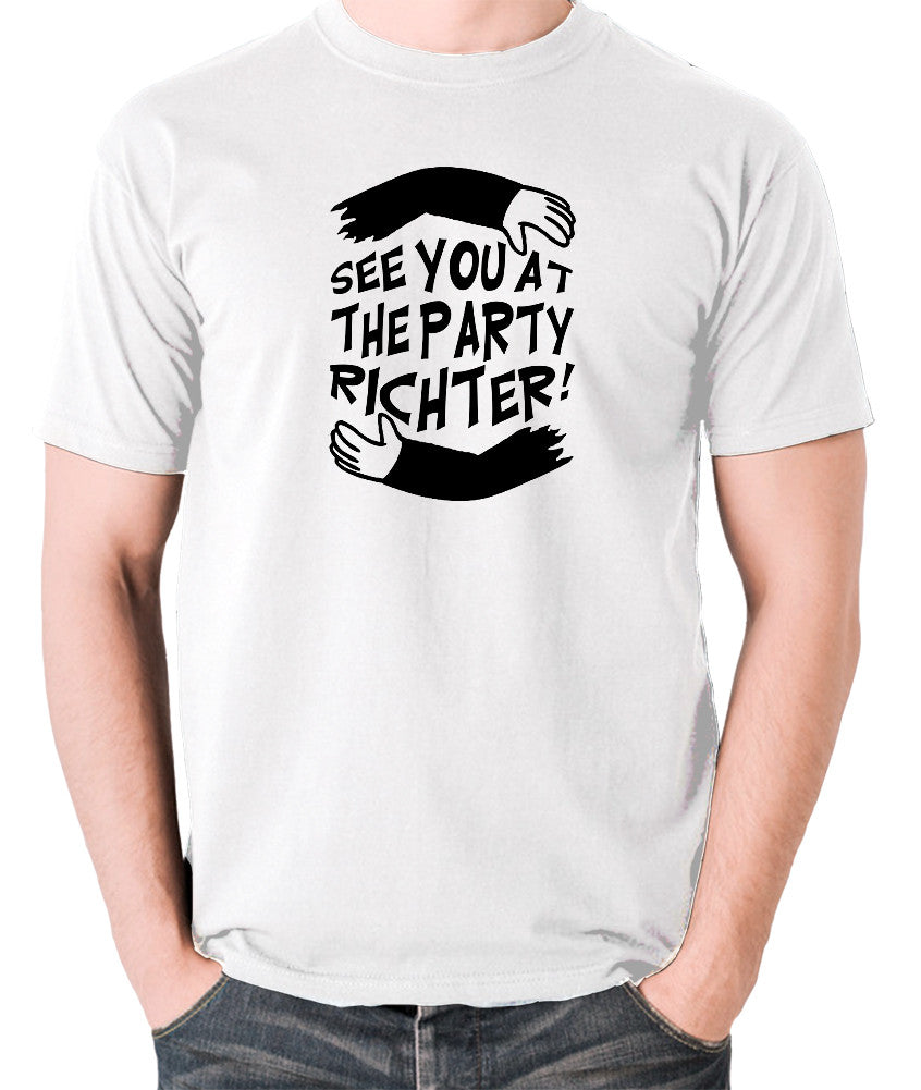 Total Recall - See You at the Party Richter - Men's T Shirt - white