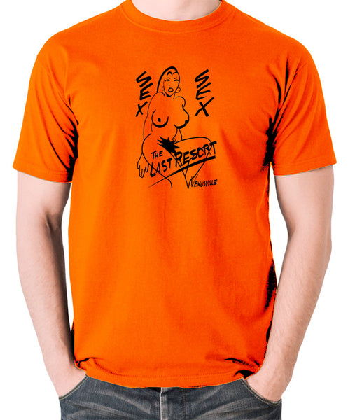 Total Recall - The Last Resort Poster, Venusville - Men's T Shirt - orange