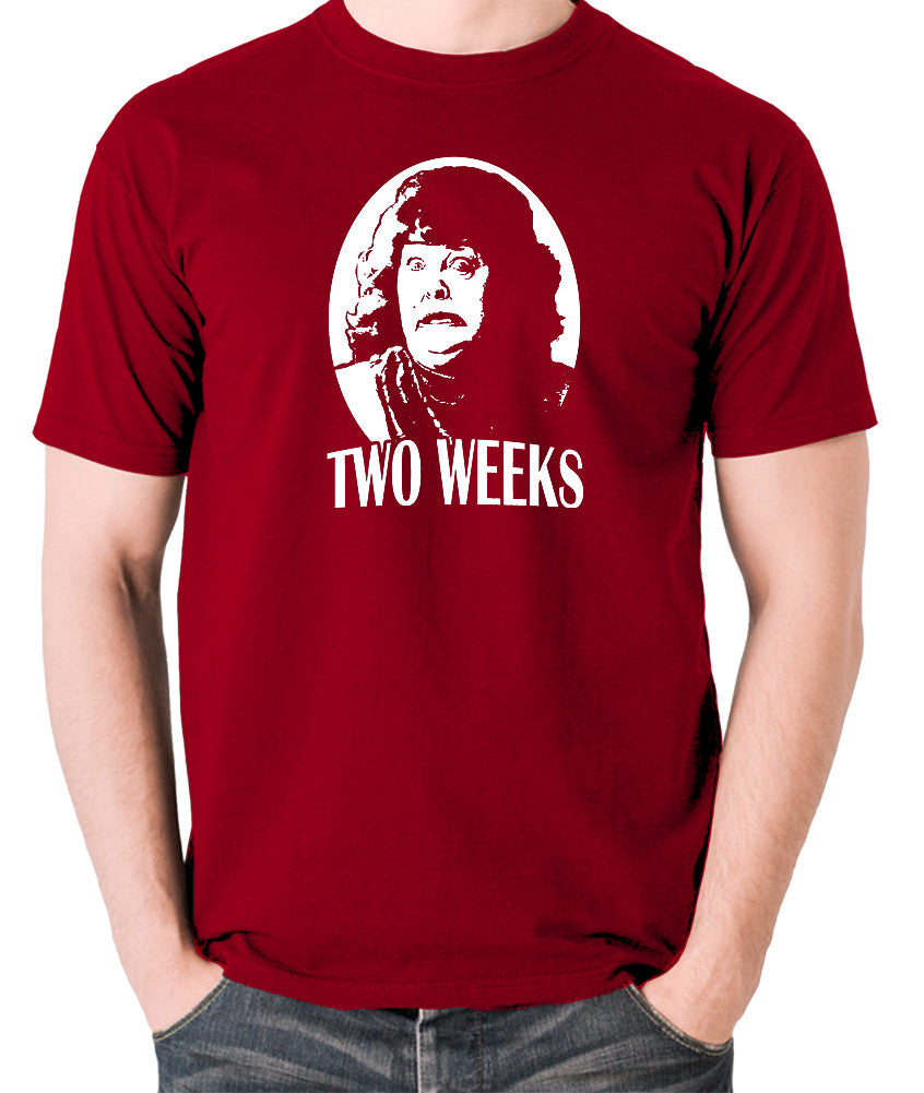Total Recall - Two Weeks - Men's T Shirt - brick red