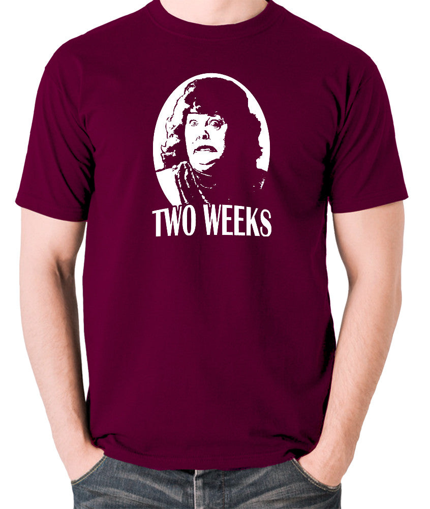 Total Recall - Two Weeks - Men's T Shirt - burgundy