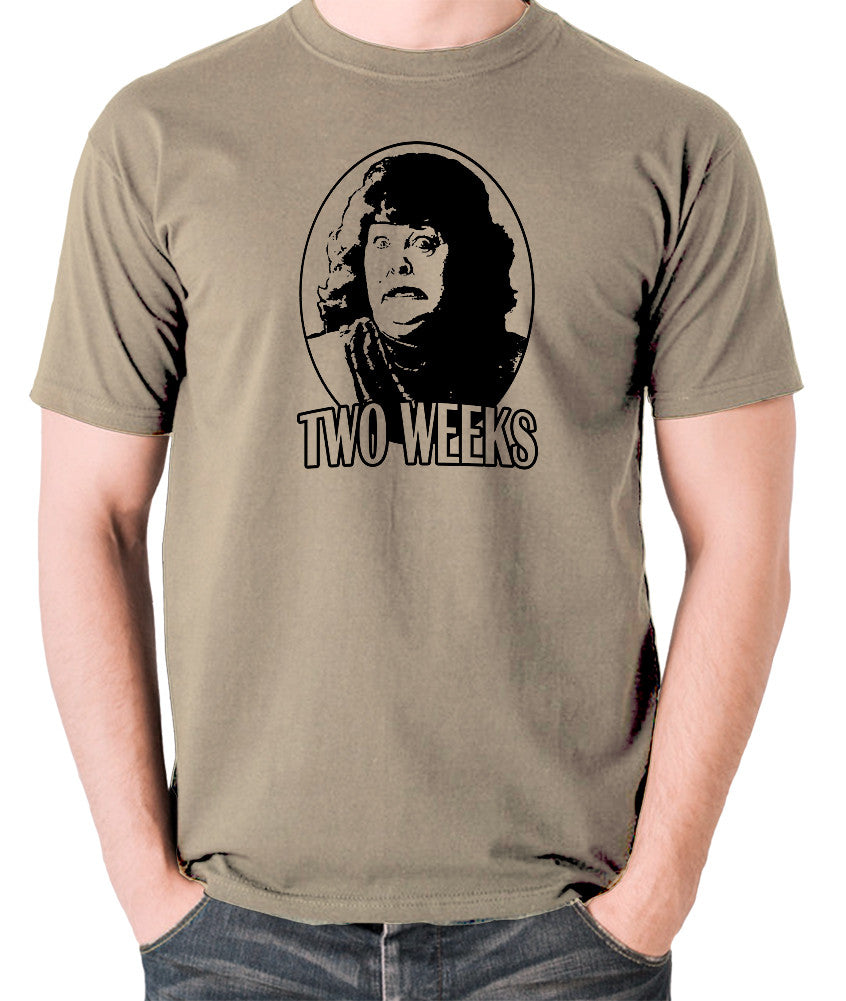Total Recall - Two Weeks - Men's T Shirt - khaki