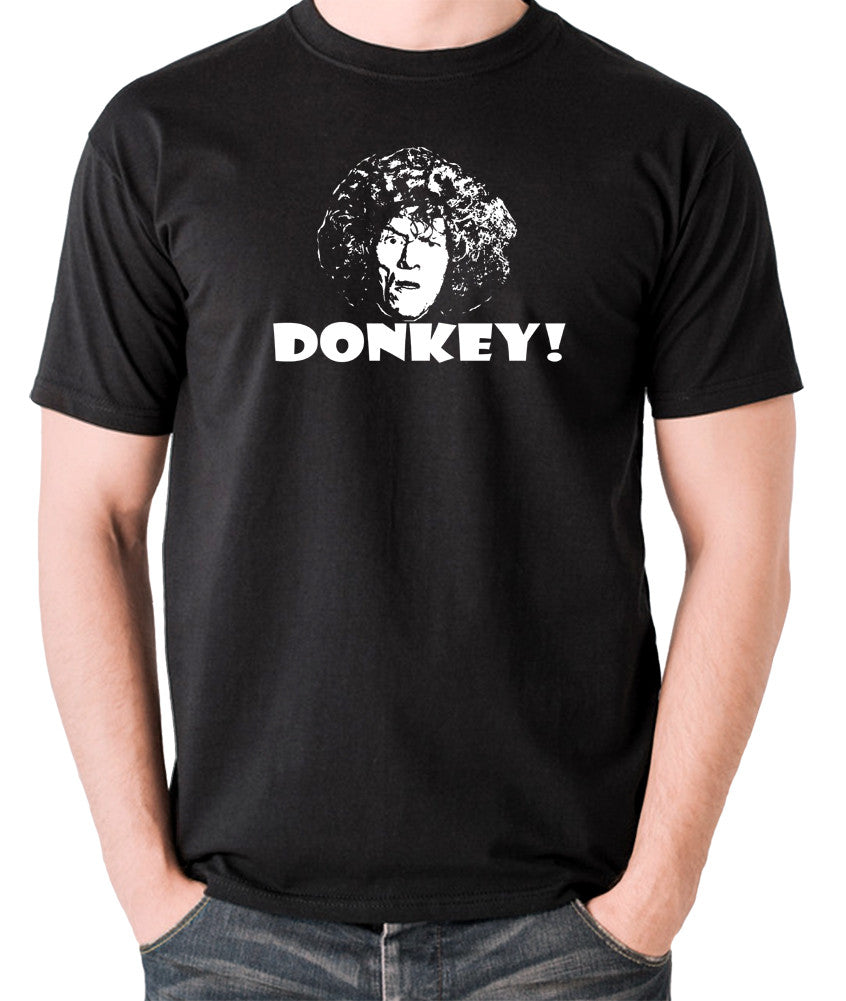 The Smell of Reeves and Mortimer - Uncle Peter, Donkey - Men's T Shirt - black