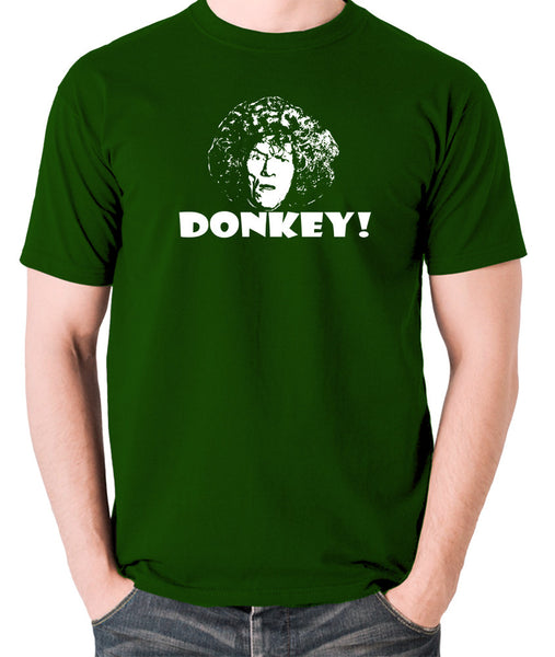 The Smell of Reeves and Mortimer - Uncle Peter, Donkey - Men's T Shirt - green